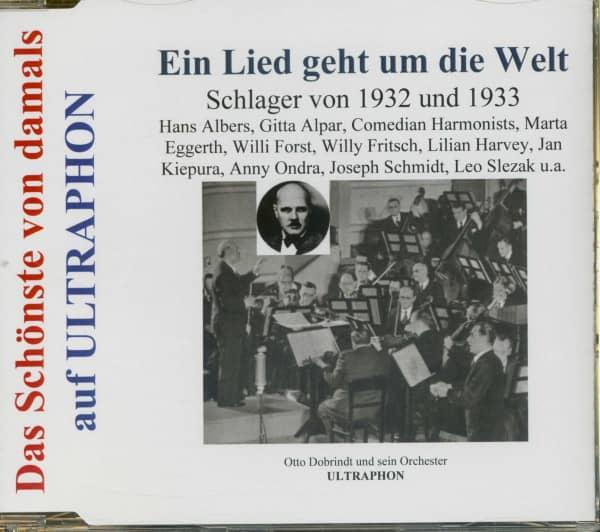 Ein Lied geht um die Welt - Film- und Tanzschlager von 1932 und 1933 (CD)