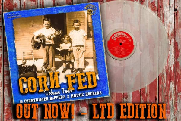 Corn Fed Vol.4 (LP, Clear Vinyl, Ltd.)