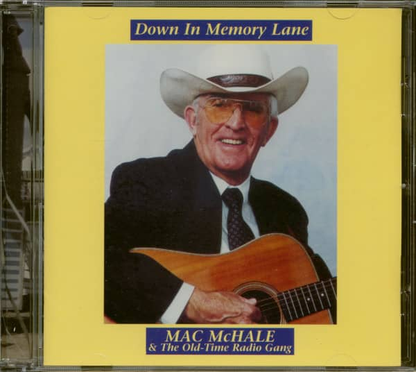 Down in Memory Lane (CD)
