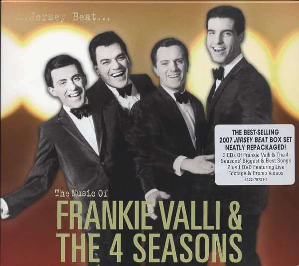 Jersey Beat: The Music Of Frankie Valli & The Four Seasons (3-CD&DVD)