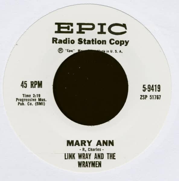 Mary Ann - Ain't That Lovin' You Babe (7inch, 45rpm)