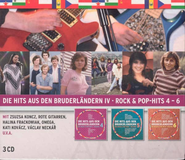 Vol.4, Die Hits aus den Bruderländern (3-CD)