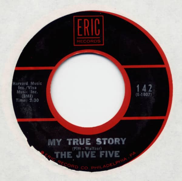 My True Story b-w What Time Is It? 7inch, 45rpm