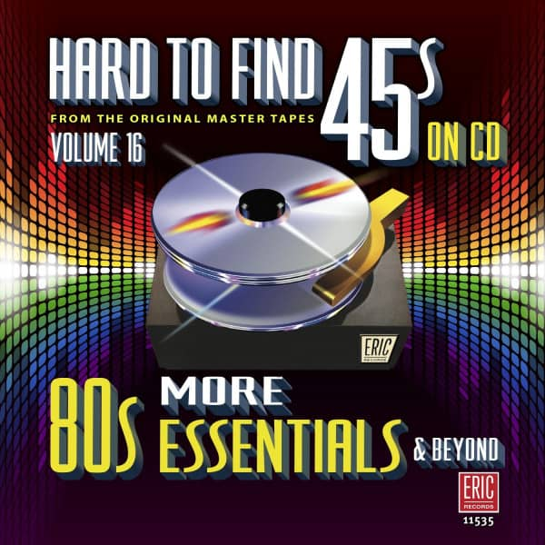 Hard To Find 45s On Cd 16 - More 80s (CD)