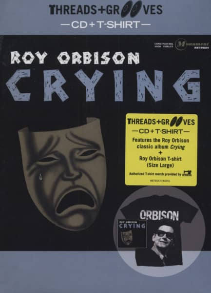 Crying (CD&T-Shirt L) Threads And Grooves