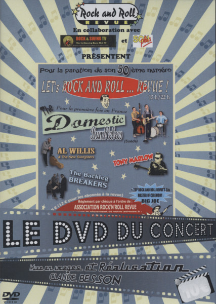 Let's Rock And Roll... Revue France 2011 (DVD)