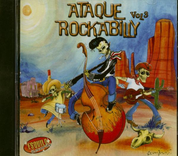 Ataque Rockabilly Vol.3 (CD)