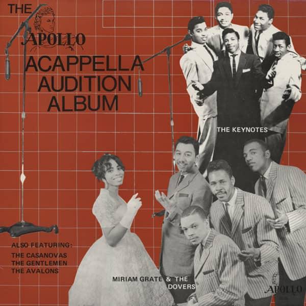 The Apollo Acappella Audition Album (LP)