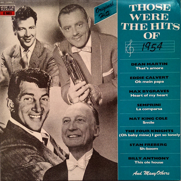 Those Were The Hits Of 1954
