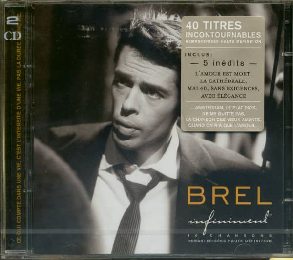 Infiniment - Best of Jacques Brel (2-CD)