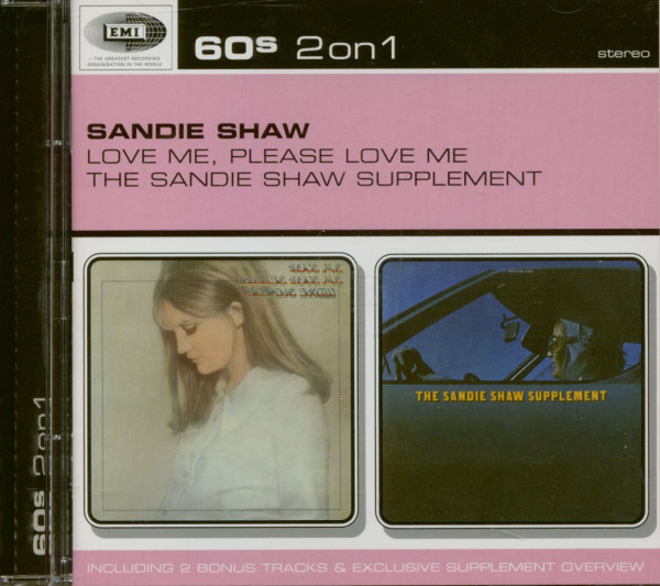 Love Me, Please Love Me - The Sandy Shaw Supplement