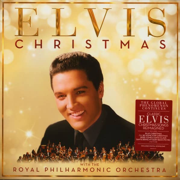 Christmas With Elvis And With The Royal Philharmonic Orchestra (LP)