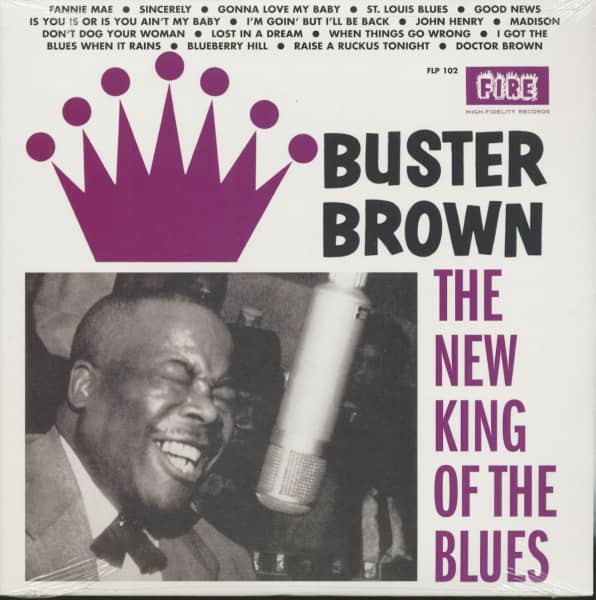 The New King Of The Blues (LP)