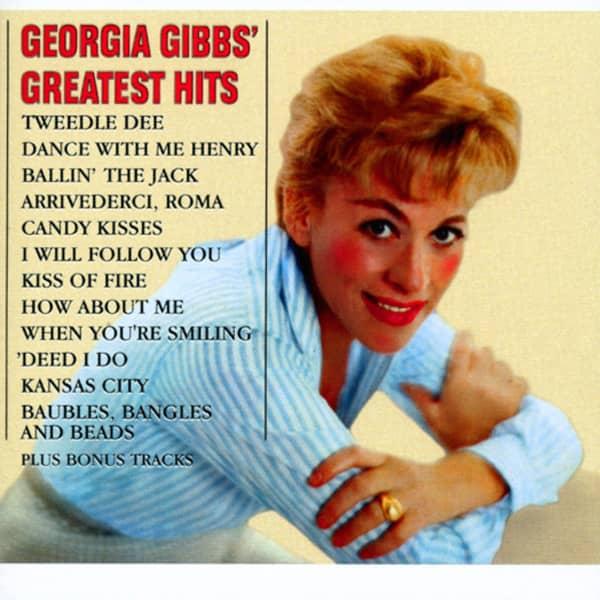 Georgia Gibbs Greatest Hits   plus
