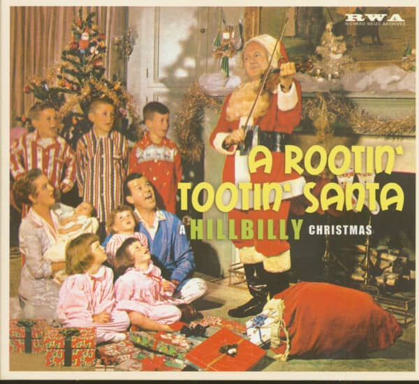 A Rootin' Tootin' Santa - A Hillbilly Christmas (CD)