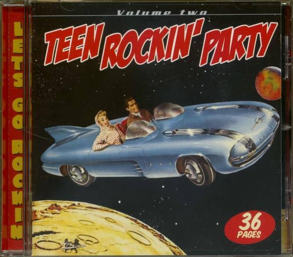 Teen Rockin' Party Vol.2 (CD)