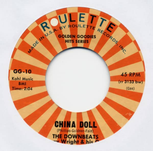 China Doll b-w Don't Say Goodnight 7inch, 45rpm