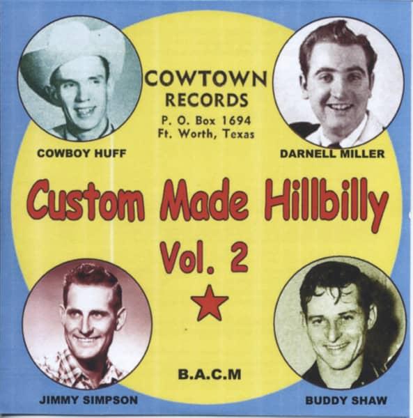 Vol.2, Custom Made Hillbilly