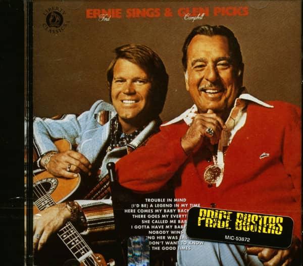 Ernie Sings Glen Picks (CD)