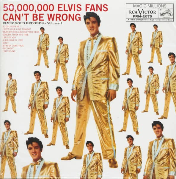 Elvis' Gold Records Vol.2 (LP)