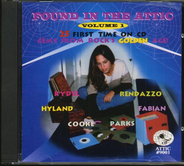 Found In The Attic Vol.1 (CD)
