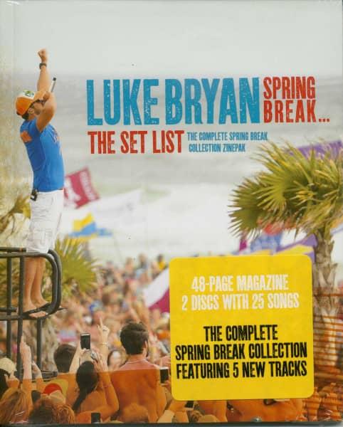 Spring Break: The Set List Zinepack (2-CD & Magazine)