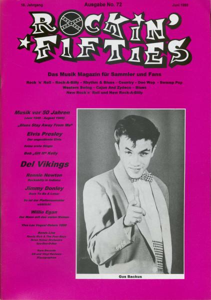 Nr. 72 - Musikmagazin Juni 1999