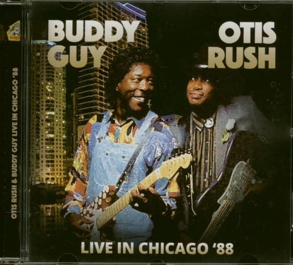 Otis Rush & Buddy Guy Live In Chicago '88 (CD)