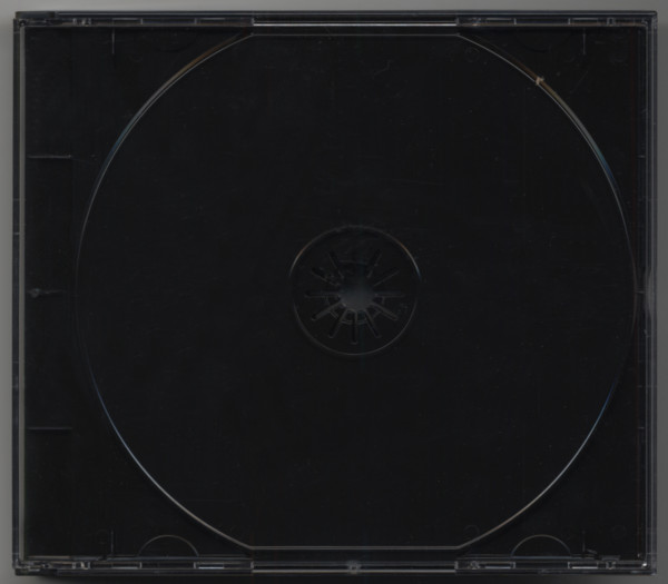 CD multipack with black tray for 4 CDs
