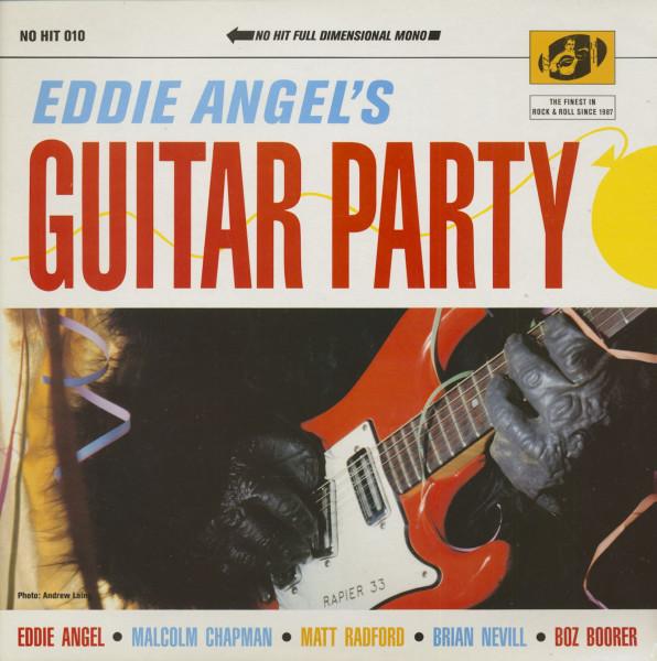 Eddie Angel's Guitar Party (LP)