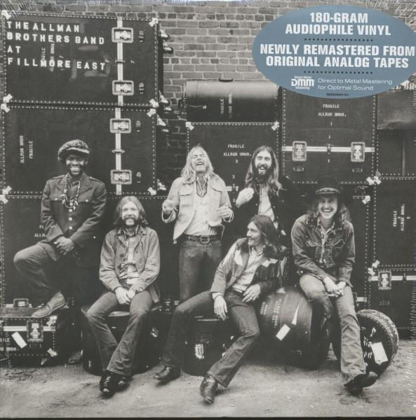 The Allman Brothers Band At At Fillmore East (2-LP, 180g Vinyl)