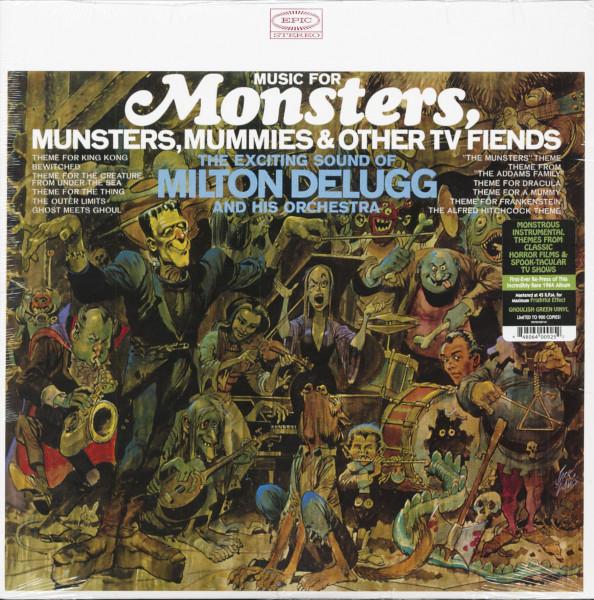 Music For Munsters, Mummies & Other TV Fiends (LP, Ltd.)
