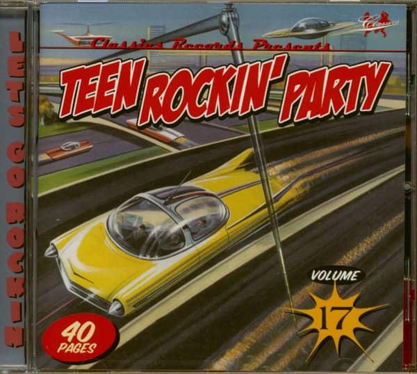 Teen Rockin' Party Vol.17 (CD)