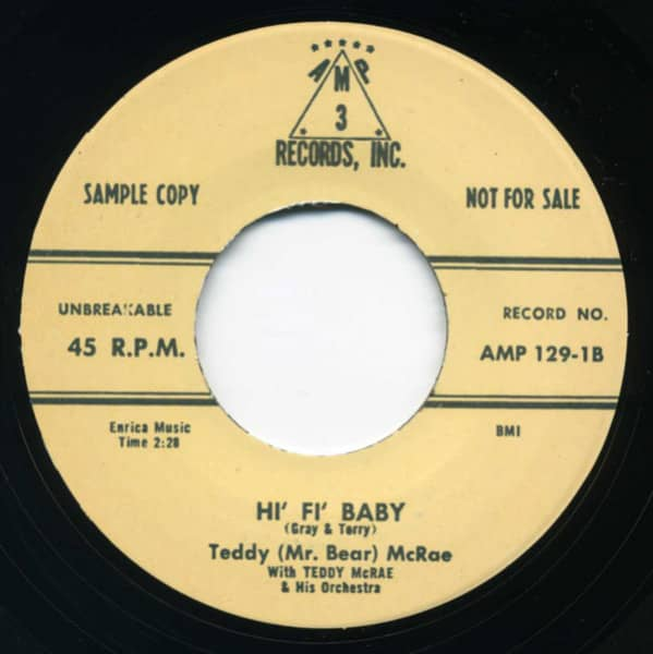 Hold Out Baby - Hi-Fi Baby 7inch, 45rpm