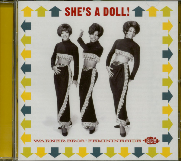 She's A Doll! - Warner Bros.' Feminine Side (CD)