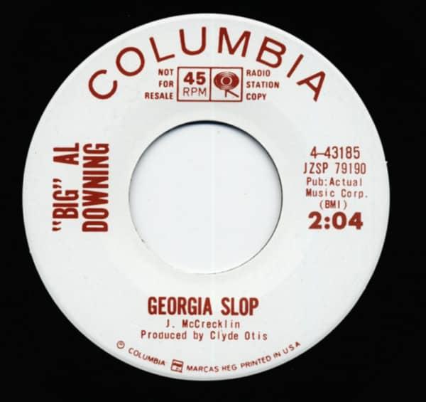 Georgia Slop b-w I Feel Good 7inch, 45rpm Repro