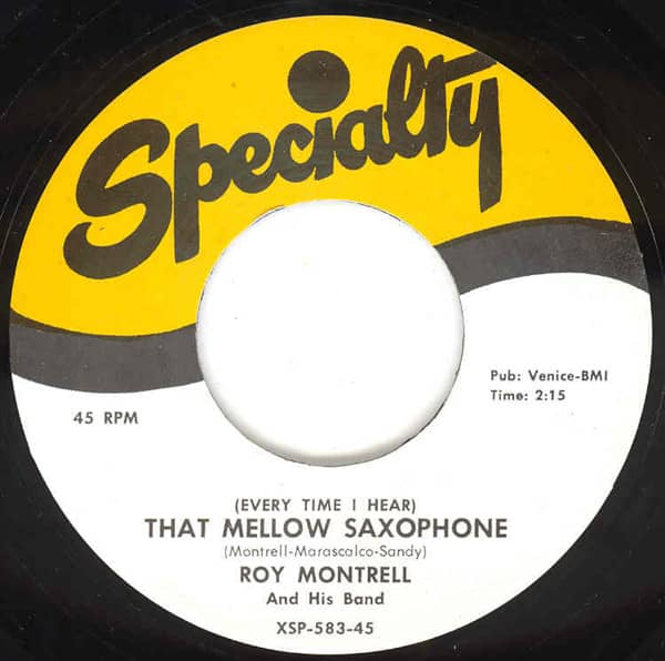 That Mellow Saxophone - Oooh-Wow 7inch, 45rpm