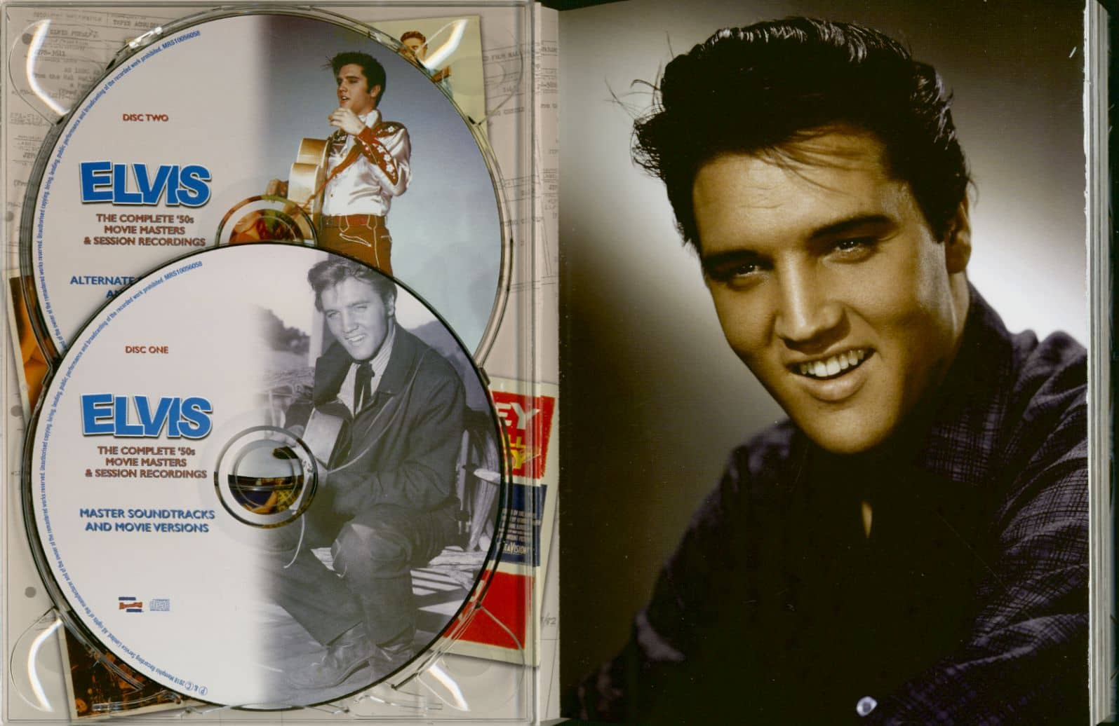 Elvis Presley Cd The Complete 50s Movie Masters