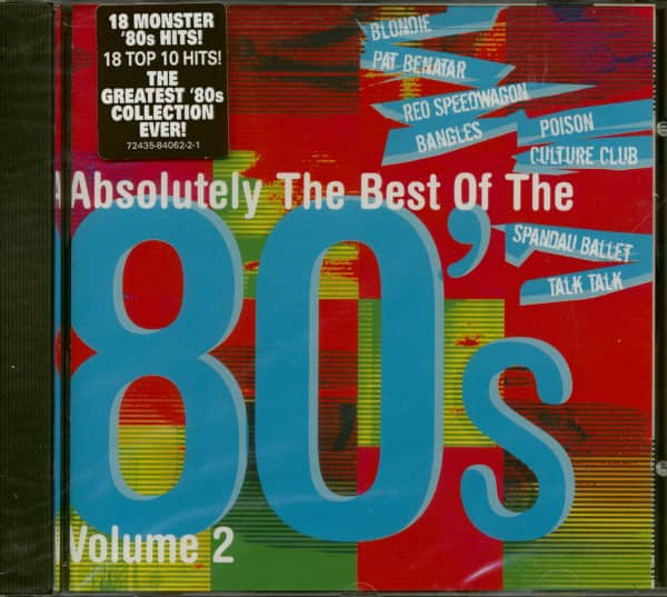 Absolutely The Best Of The 80's Vol.2 (CD)