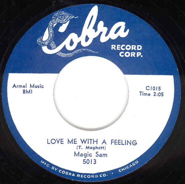 Love Me With A Feeling b-w All Your Love 7inch, 45rpm