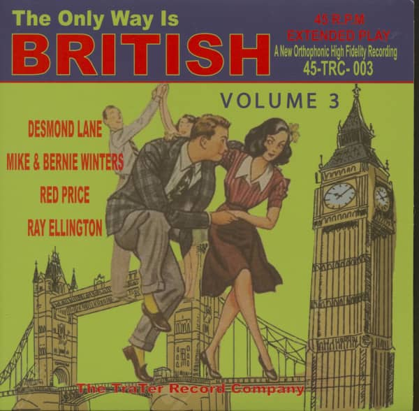 The Only Way Is British, Vol.3 (EP, 7inch, 45rpm, PS)