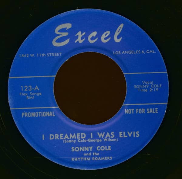 I Dreamed I Was Elvis - Curfew Cops (7inch, 45rpm)