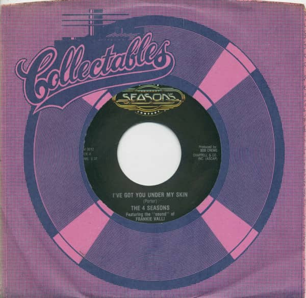 I've Got You Under My Skin - Don't Think Twice (7inch, 45rpm, BC, CS)