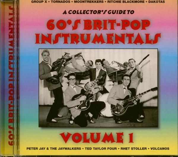 60s Brit-Pop Instrumentals (CD)