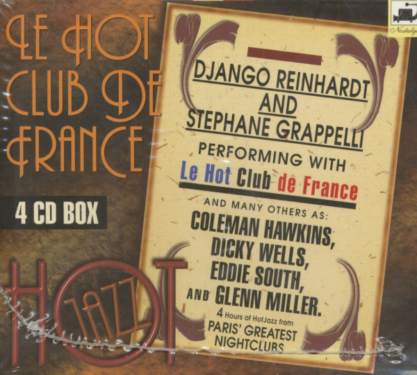 With Stephane Grappelli And Others 4-CD