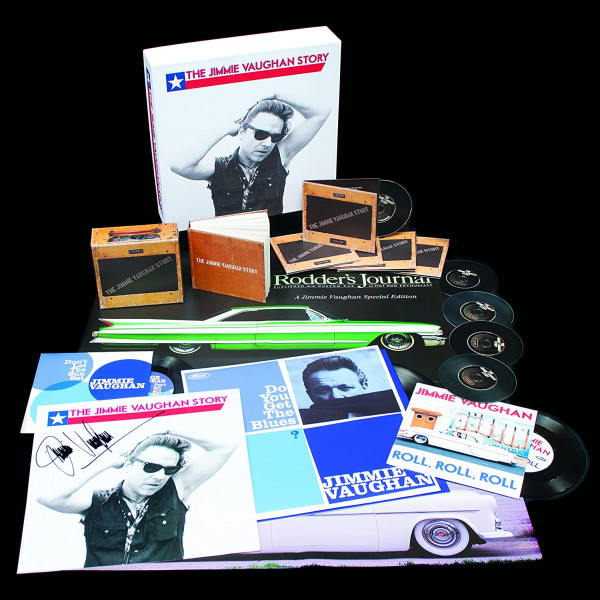 The Jimmie Vaughan Story (5-CD,1-LP,2-7inch,1 Book)