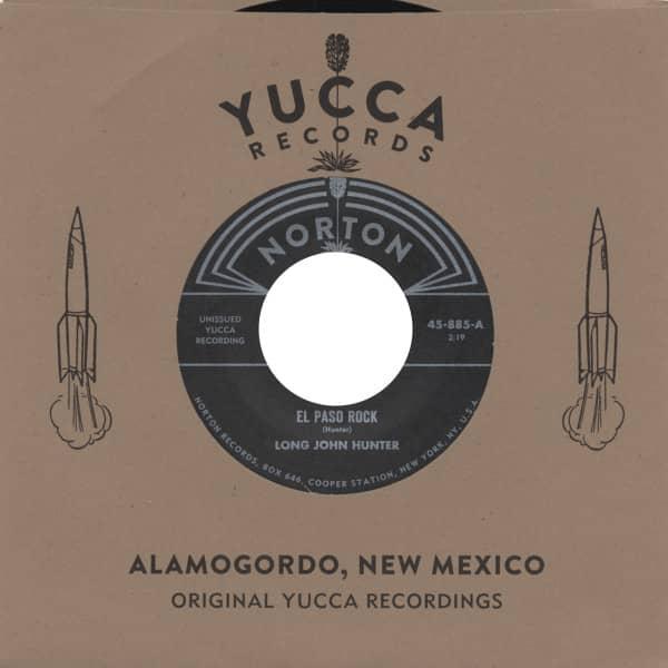 El Paso Rock - Unissued Yucca Recordings (7inch, 45rpm)