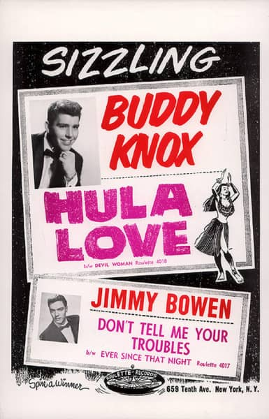 Hula Love - Don't Tell Me Your Troubles (Poster, 43x28 cm, Color)