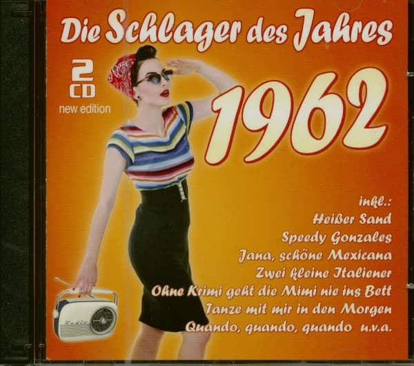 Die Schlager des Jahres 1962 - New Edition (2-CD)