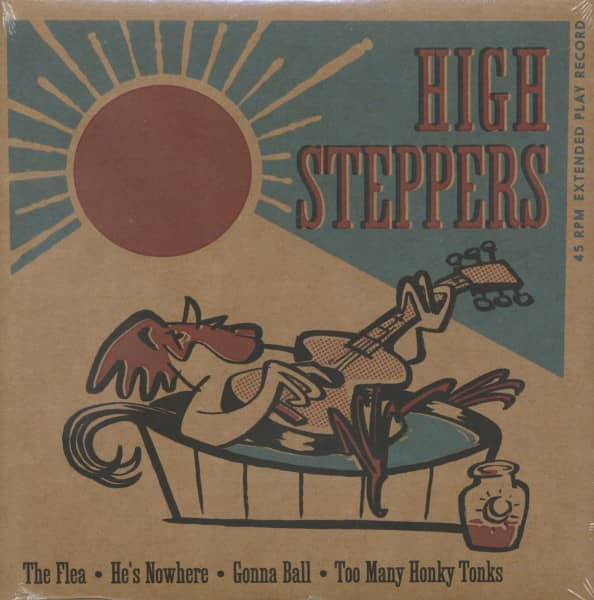 High Steppers (7inch, 45rpm, EP)